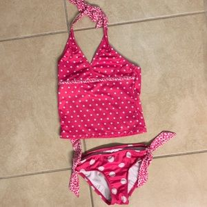 Never used size 7 Justice girls tankini